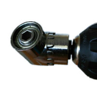 "105° Angle Extension 1/4"" Hex Magnetic Screwdriver Bit Holder Socket Tool"