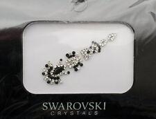 Bindi bijoux piel boda frente strass cristal de Swarovski negro D ING 3684