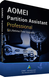 AOMEI Partition Assistant Pro Disk Management Lifetime License Authorised Seller