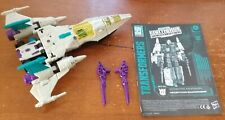 Transformers Earthrise Snapdragron Voyager War for Cybertron (no Headmaster)