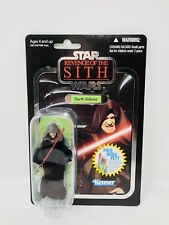 Star Wars TVC The Vintage Collection Darth Sidious Foil Revenge Of The Sit VC12