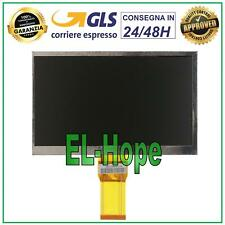 DISPLAY LCD PER TABLET LISCIANI MIO TAB MP0100770 ORIGINALE SCHERMO MONITOR 7,0""