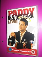 Paddy McGuinness - Live (DVD, 2006) 5060105720109 - New and Sealed - FREEPOST