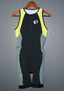 PEARL IZUMI Triathlon Tri Suit IN-R-COOL Cycling Run Swim One Piece ELITE Men LG