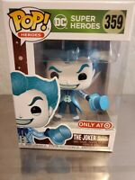 Funko Pop! DC THE JOKER AS JACK FROST! Target Exclusive! Brand New In Hand! #359