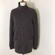 Brunello Cucinelli Men 100% Cashmere Lined Knit Jacket Size 48 EUC $4400