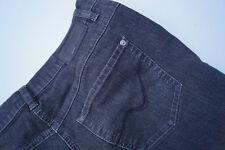 GERRY WEBER Irina Damen stretch Jeans Hose Gr.42 S anthrazit dünn stonewash AD28