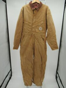 P1547 VTG Men's Carhart Quilt-Lined Insulated Coveralls