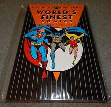 DC ARCHIVES WORLD'S FINEST VOLUME 2 BATMAN ROBIN SUPERMAN GOLDEN/SILVER COMICS!