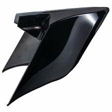 09-2013 Harley Street Road Glide Vivid Black Stretched Extended Side Cover Panel