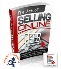 The Art Of Selling Online, Pdf eBook w/Resell Rights + Free Shipping!