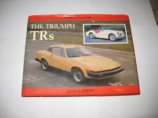 The Triumph TRs by Graham Robson A Collector's Guide HARDBACK 128 pages