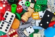 Game pieces/Boards/Playing Cards and more