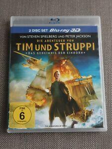 Die Abenteuer von Tim und Struppi - Das Geheimnis der Einhorn [+ Blu-ray] 3D
