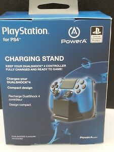 PlayStation PowerA  Charging Stand  PS4 Dualshock 4 Controller NEW