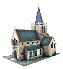 More details for o gauge 7mm 1:43 scale model railway building church kit