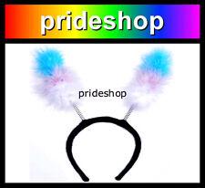 Transtenna Fluffy Antenna Ears Transgender Costume Headwear Trans Pride #785