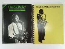 CHARLIE PARKER OMNIBOOK & JAZZ MASTERS  E Flat  Transcribed SONGBOOK  Free ship