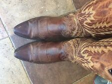 LUCCHESE MENS BOOTS 9D