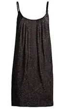 VERSACE H&M Black Prom Dress with Gold Studs Size US 2 NEW