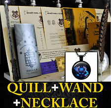 Harry Potter Personalised Gift Set Marauders Map Wand Quill Hogwart RAVENCLAW