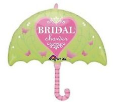 BRIDAL SHOWER Pink butterfly Lime Green Umbrella Wedding Balloon Decorations