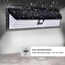 Waterproof 118 LED Solar Lamp Outdoor Garden Yard PIR Motion Sensor Wall Light