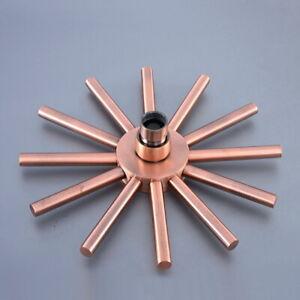 Antique Copper Showerhead Rainfall Shower Head Rain Shower Faucet Head