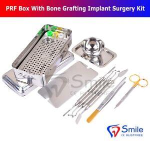 Dental PRF Box GRF System Platelet Rich Fibrin Set Implant Surgery Membrane Kit