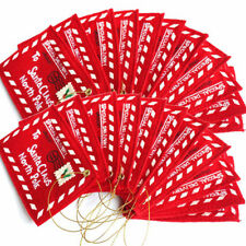 Cute Red Santa Claus Christmas Envelope Xmas Tree Hanging Decor Gift Card Bag