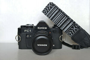 Konica FC1 & Konica Hexanon 28mm f3.5 AE (7/7 version) [Near mint]