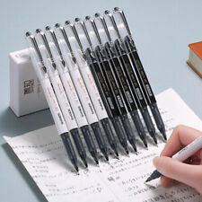 Simple Black Ink Gel Pens Large Capacity Exam Signing Pen Office School Supplies