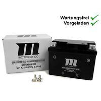 Batterie Motoforce 12V 5Ah wartungsfrei vorgeladen direkt fertig zum Einbau