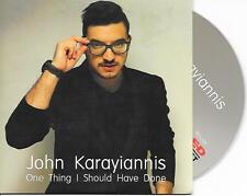 JOHN KARAYIANNIS - One thing i should have done Promo CDS 2TR EUROVISION CYPRUS