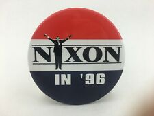 Film NIXON '96 Campaign Button Promo Oliver Stone Hollywood Pictures Movie - NOS