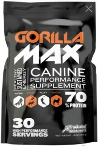 Bundle!- 1x Gorilla Max Muscle Builder 30 serving. Plus 1x bully Max 60 tablets