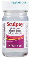 SCULPEY GLOSS GLAZE - TOP COAT - 30ml - Polymer Clay