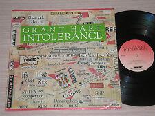 GRANT HART - INTOLERANCE - LP 33 GIRI U.S.A.