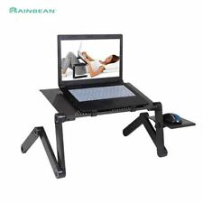 Laptop Desk Table Portable Tray Stand Adjustable Folding Holder Mount PC