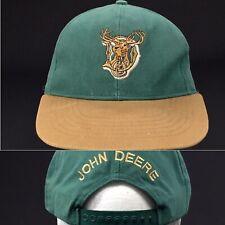John Deere Spellout - Buck Logo - Swingster -  SnapBack Hat Cap