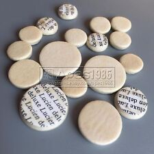10 set New clarinet pads Buffet size Great material