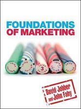 FOUNDATIONS OF MARKETING., Jobber, David & John Fahy., Used; Very Good Book