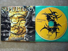 SEPULTURA -  AGAINST  CD   NOT FINAL VERSION   FOR PROMOTION ONLY   RR PROMO 353