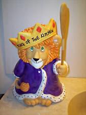 TREASURE CRAFT KING OF THE KITCHEN COOKIE JAR~MINT!!