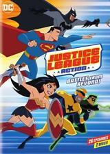DC JUSTICE LEAGUE: ACTION - SEASON 1 PART 2 NEW DVD