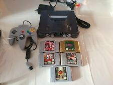 Nintendo 64 5 Games and Controller