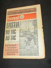 FRANCE FOOTBALL N° 1503 1975 SEC BASTIA LENOIR ASSE ST-ETIENNE REVELLI
