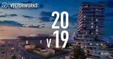 VectorWorks 2019 - FULL VERSION - WIN & MAC - LIFETIME ACTIVATION - FAST SHIP!