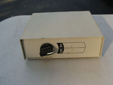 Manual Data Transfer Switch Box 2-Position 2-Port A/B