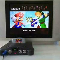 Super Smash Bros Video Game Cartridge Console Card For Nintendo N64 US Version